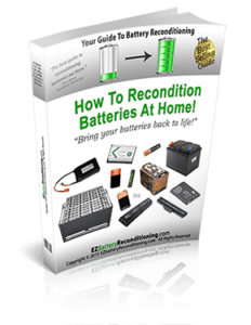 How To Recondition Old Batteries With EZ Battery Reconditioning